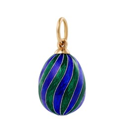 Colourful eggpendant
