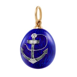 Eggpendant with an anchor