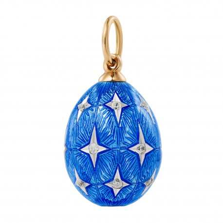 Eggpendant with stars